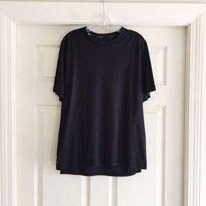 Black Nike Dri Fit Running Shirt Large